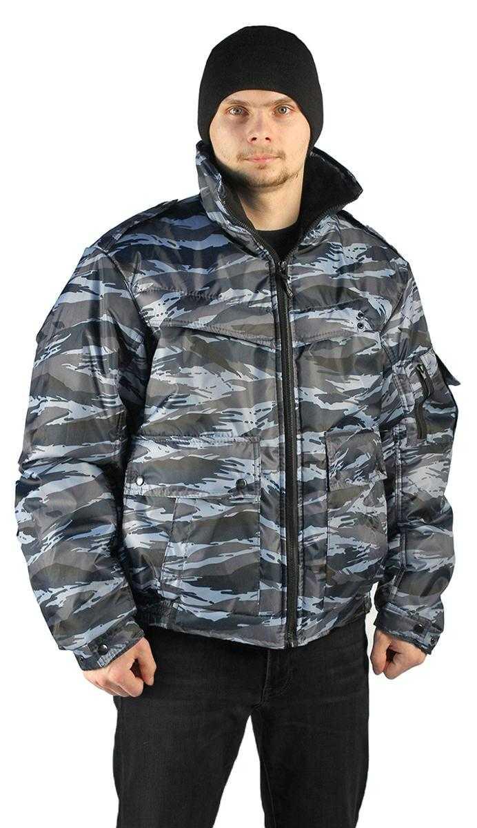 "d9ebe01c9728560c3579689b183a16f4 - Куртка демисезонная ""КОНТРОЛ"" цвет: кмф ""Вихрь серый"", ткань: Оксфорд"