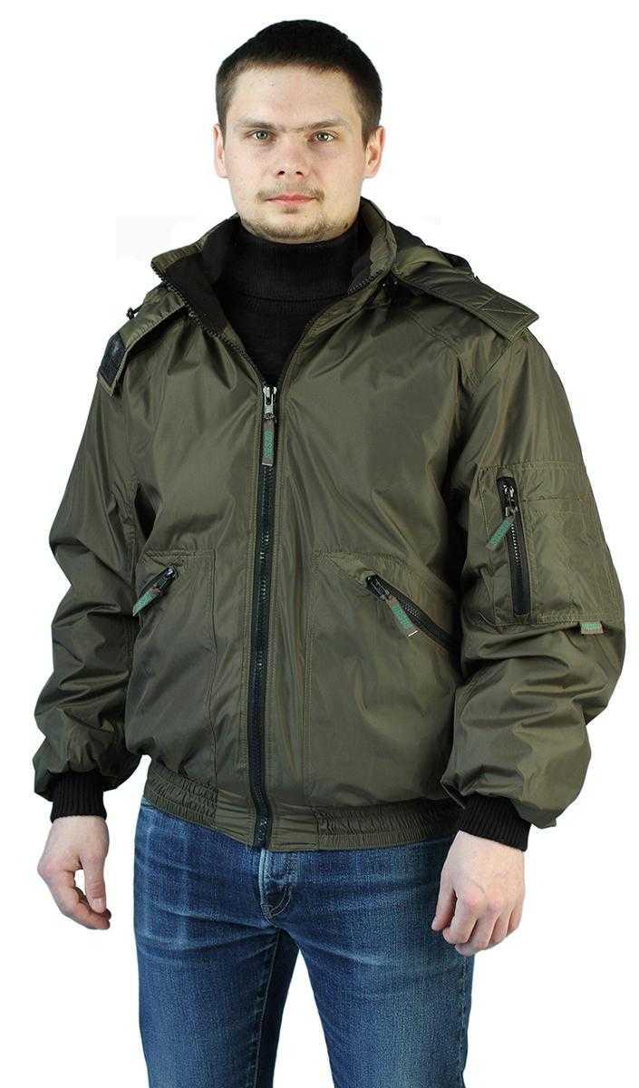 "dfcbf762ede454c9f690343656859089 - Куртка демисезонная ""БОМБЕР"" цвет: Хаки"