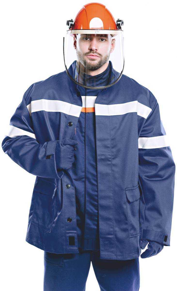 04 ЛII  - Куртка - накидка 9 кал/см2 из огнезащитной ткани WORKER