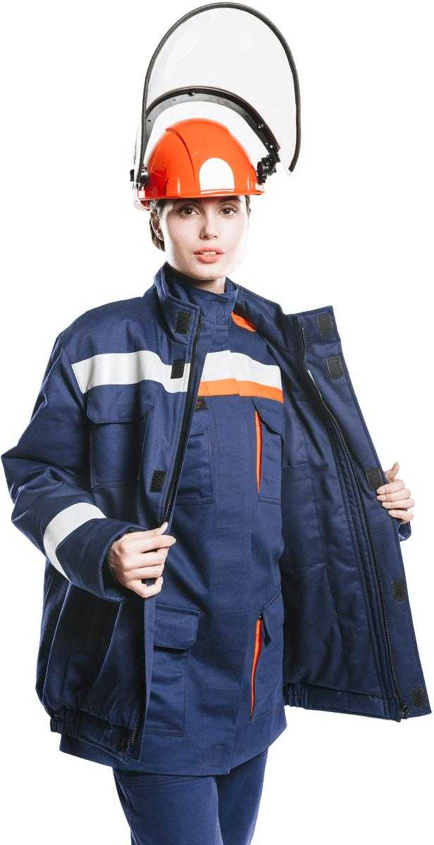 09 ДV - Куртка - накидка 52 кал/см2 из огнезащитной ткани WORKER