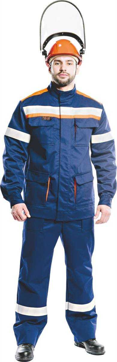 011 ЛII  - Костюм 14 кал/см2 из огнезащитной ткани WORKER (куртка/брюки)