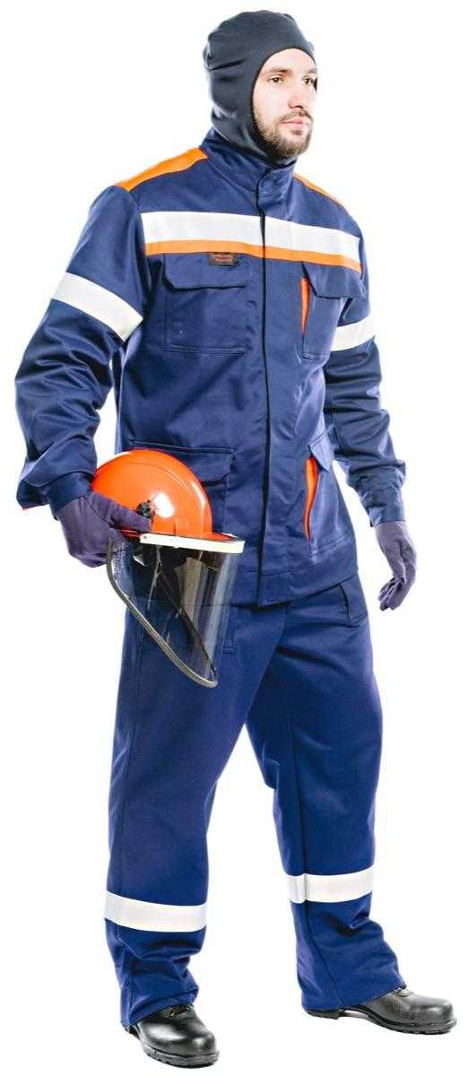 03 ЛV  - Костюм 42 кал/см2 из огнезащитной ткани WORKER с термобельём (куртка/брюки)