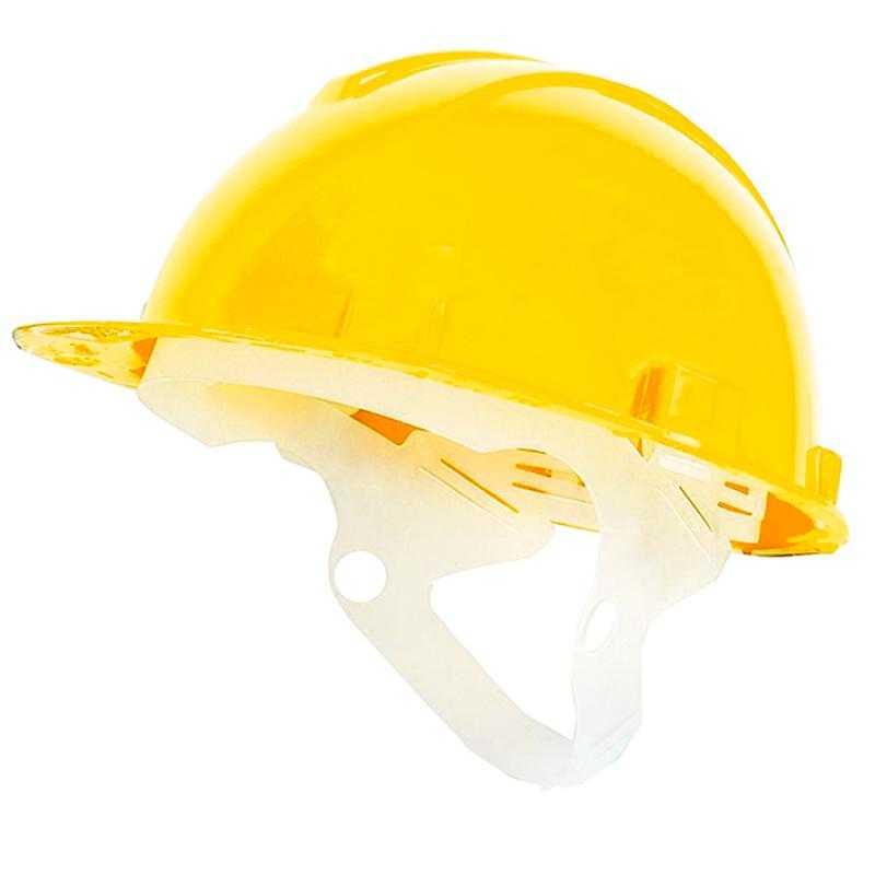 3и - Каска защитная пластиковое оголовье Юнона(желтая)
