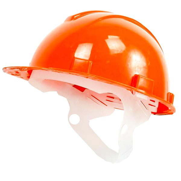 3cf999a5bdcf7c7b7d9d44c4c7eab9b6 - Каска защитная пластиковое оголовье Юнона(оранжевая)