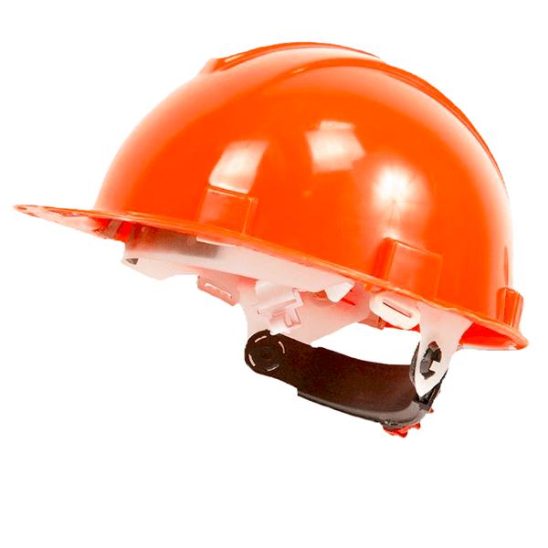 ab46f1836355fa5243b471504dc0bdb7 - Каска защитная с храповым механизмом Юнона (текс. оголовье) оранжевая