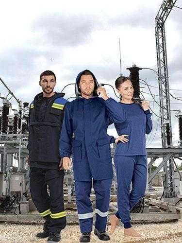 Одежда для защиты от термических рисков электродуги