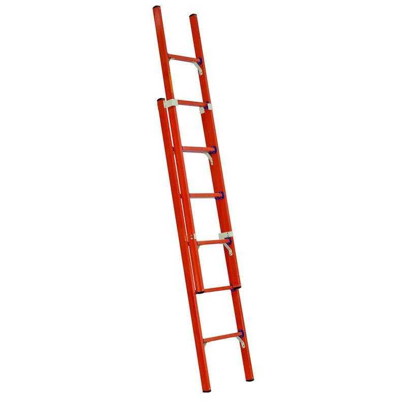 1 1 - Лестница-стремянка универсальная двухсекционная диэлектрическая ССД-У