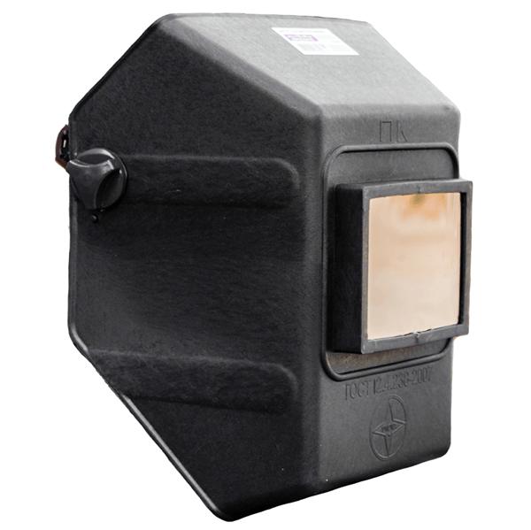 1112 15 - Щиток защитный лицевой для электросварщиков Юнона пластик