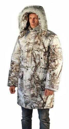 "i   i  38 269x500 - Куртка-парка мужская ""Тайга"" зимняя, подкл. термофольга, тк.мембрана Алова, цв.кмф Зимний лес"