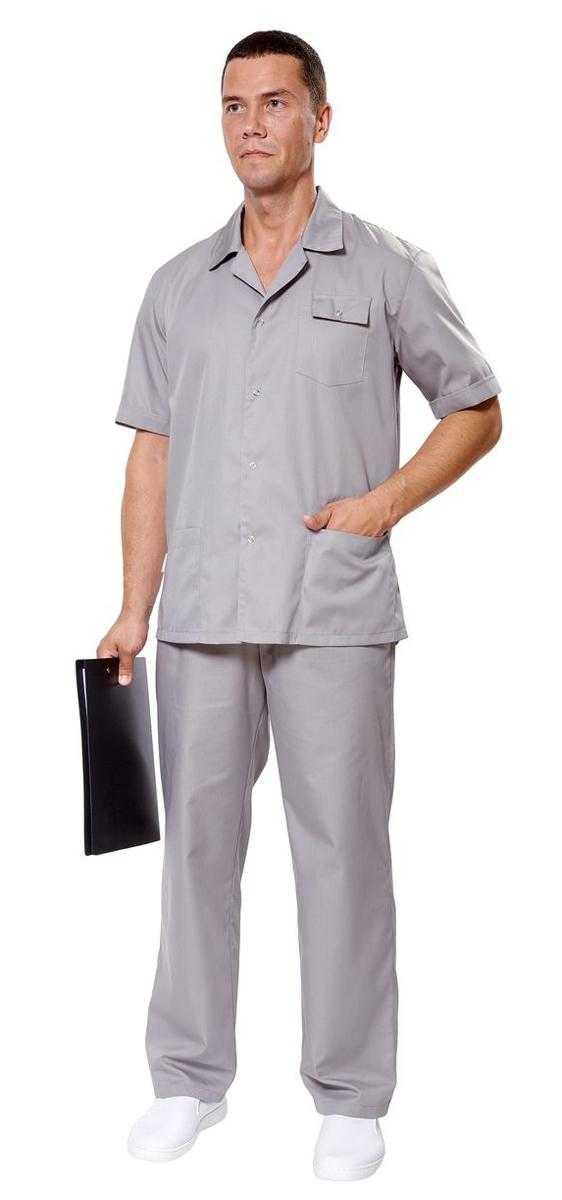 Крокус серый муж - Куртка Крокус 2 мужская , серый