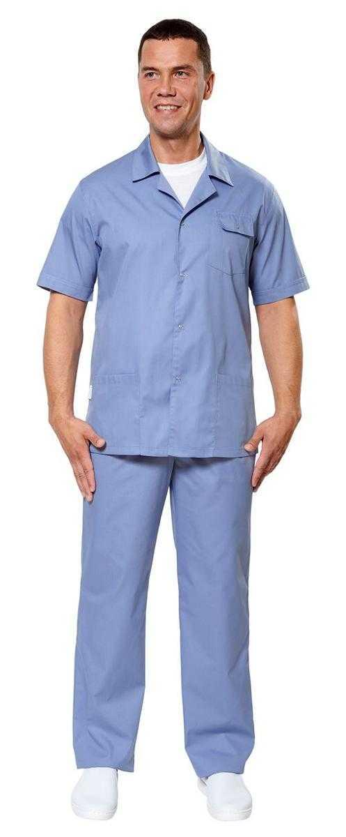 Крокус 2 серо голубой - Куртка Крокус 2 мужская ,серо-голубой