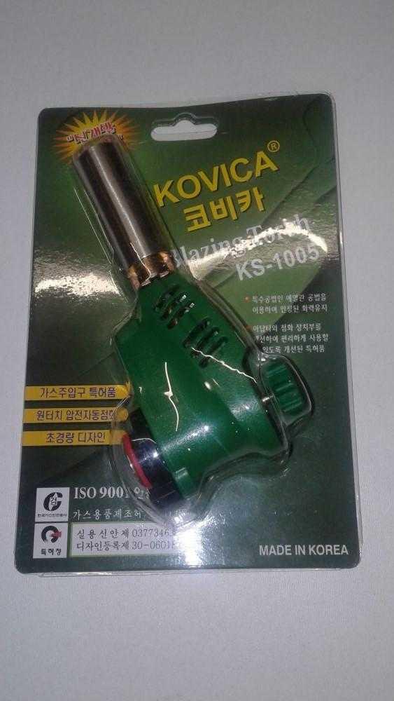 горелка пьезо KOVIKA 8148 - Газовая горелка пьезо KOVIKA