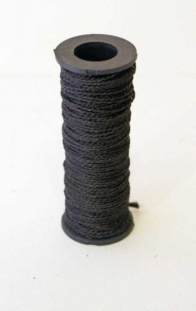 нитка черная 8420 - Капроновая нитка, черная