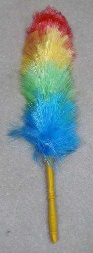 Метелка для уборки пыли цветная (лёгкая) 8443