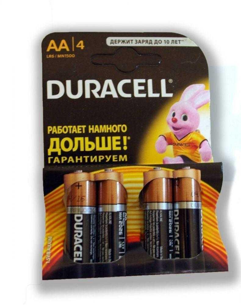 Duracell LR06 4 80 1124 - Батарейка Duracell LR06 4/80