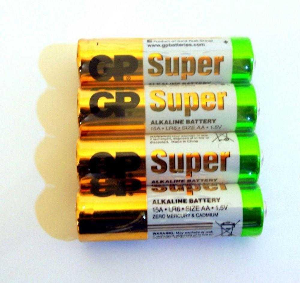 GP LR6 4 96 1121 - Батарейка GP LR6 4/96