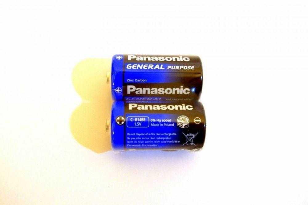 Panasonic R14 2 24 1117 - Батарейка Panasonic R14 2/24