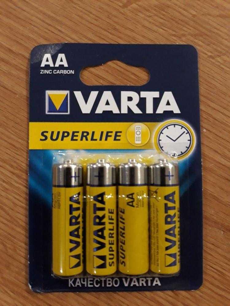 VARTA R6 4 48 240 1104 - Батарейка VARTA R6 4/48/240