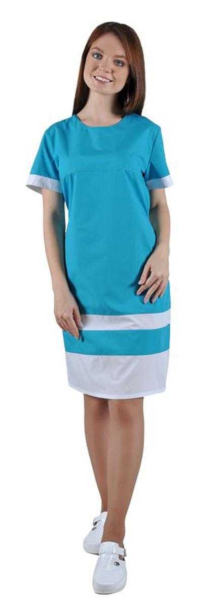 DSC 9380 - Платье медицинское женское Эльза тк.Тиси
