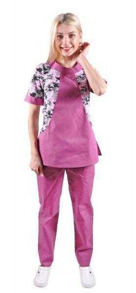 DSC 7513 279x600 - Костюм женский медицинский Лето , расцветки в ассортименте