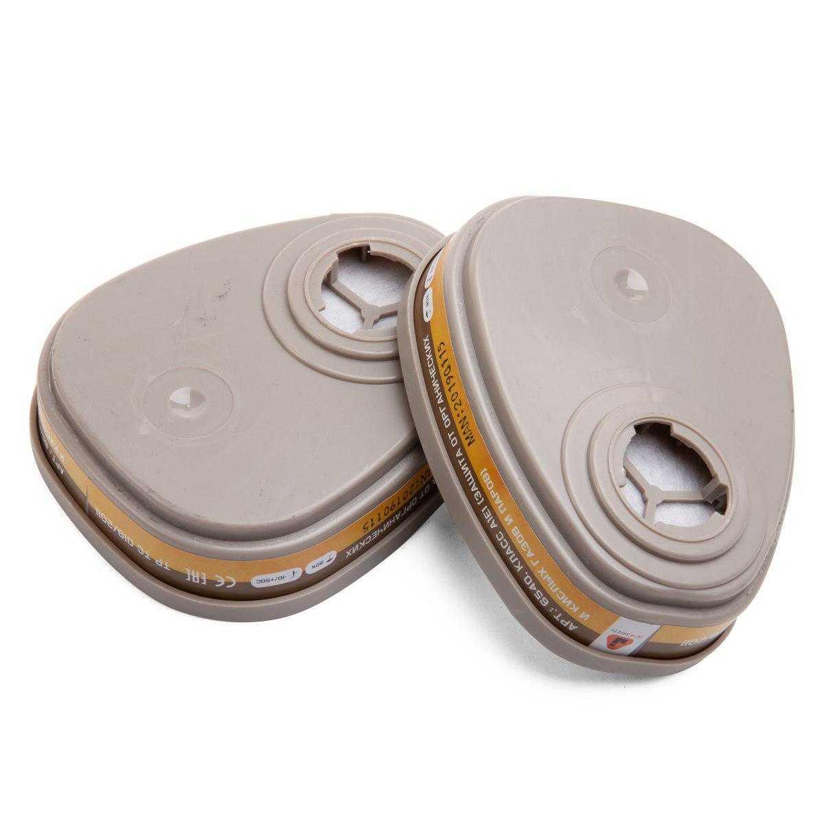 js 6540 pair - Фильтр для защиты от органических паров и кислых газов AE1 6540