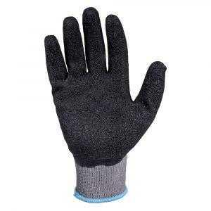 js jl061 1 300x300 - Защитные промышленные трикотажные перчатки из полиэстера с латексным покрытием ладони JL061