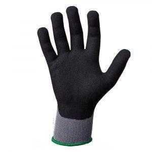 js jn031 1 300x300 - Защитные промышленные трикотажные перчатки из полиэстера с микронитриловым покрытием ладони JN031