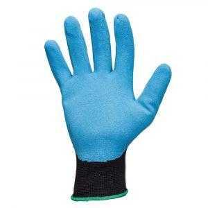 js jn051 1 300x300 - Защитные промышленные трикотажные перчатки из полиэстера с с рельефным нитриловым покрытием ладони JN051