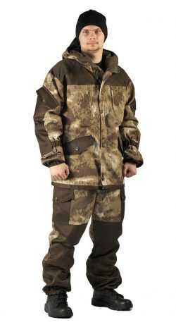 "722618825ed13213d7efd3ac4396a9d9 250x464 - Костюм демисезонный ""ГОРКА"" куртка/брюки, цвет: кмф ""Облака бежевый"", ткань: Твил рип-стоп/Грета"