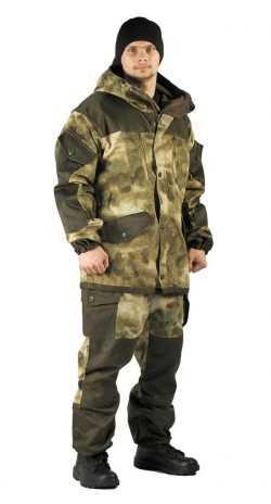 """a9b033e003c17b69e86bbad3f54ea517 250x464 - Костюм демисезонный """"ГОРКА"""" куртка/брюки, цвет: кмф """"Атака"""", ткань: Твил рип-стоп/ГретаТвил рип-стоп/Грета"""