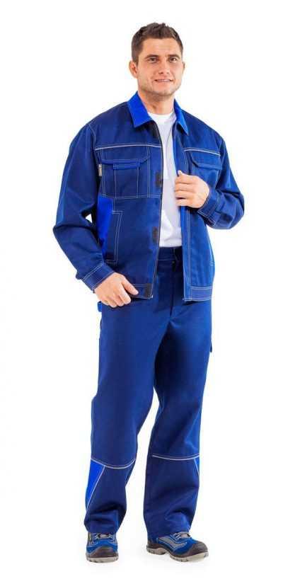1 400x828 - Костюм рабочий мужской летний Страйк 1, цвет синий/василек