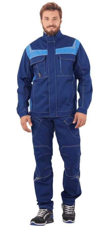 ПЕРФЕКТ синий василек 400x879 - Куртка ПЕРФЕКТ, синий-василек