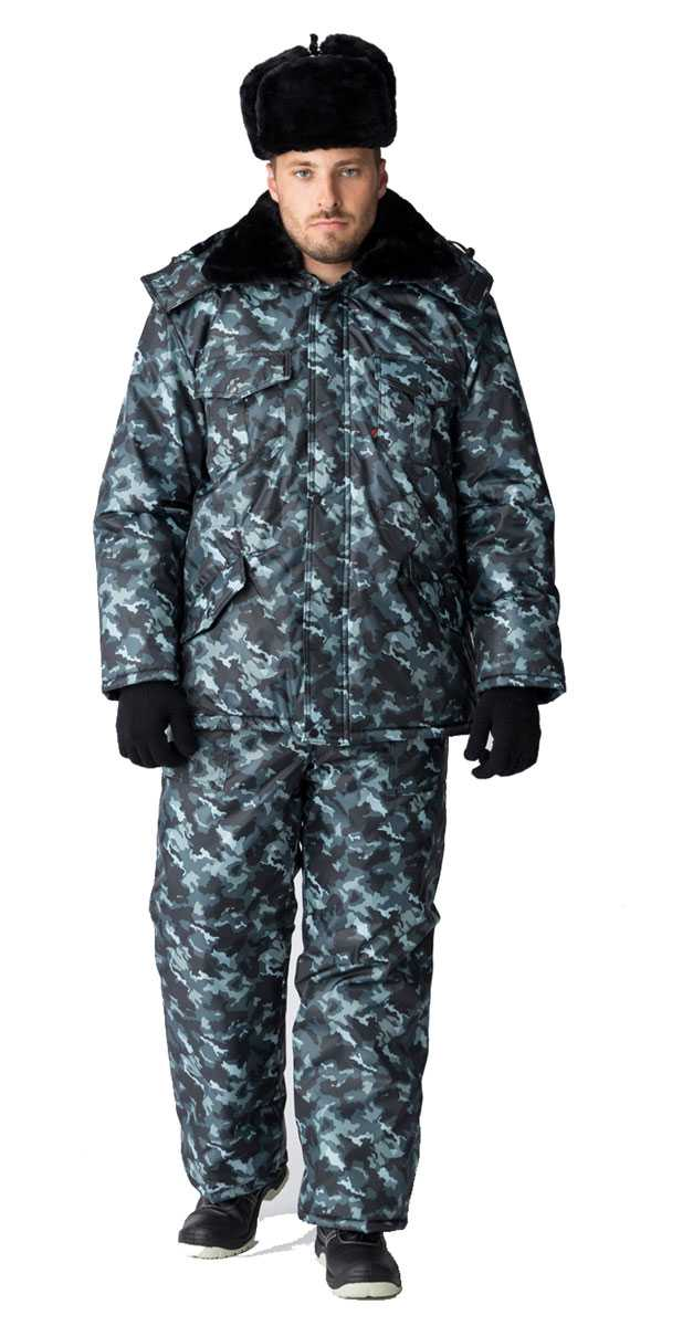 32d16f7b7875048776a66823c85c7b2a - Костюм зимний для Охранника (брюки), КМФ город