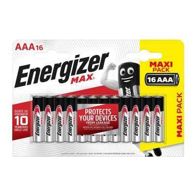 9b2d534cfe8fea01db149ecbba3320b8 400x400 - Батарейка Energizer Max LR03 BL16 16/96