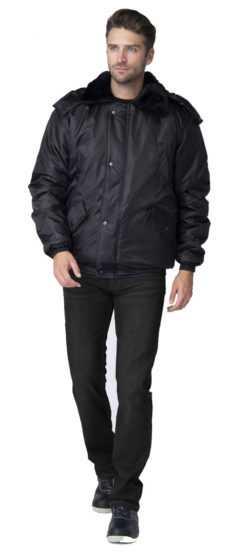 af0f9e192ad1ce4a4229d5e9d4bd5cde 250x560 - Куртка зимняя для Охранника укороченная, черный