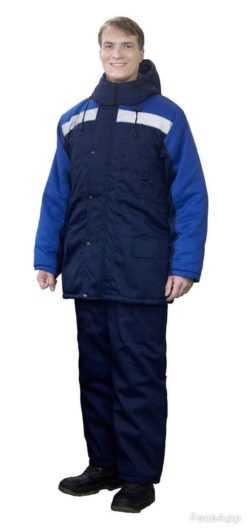 250x531 - Костюм зимний Ракурс куртка+брюки, синий/василек