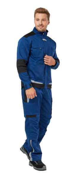 Азур 250x602 - Куртка рабочая мужская летняя Azur, цвет синий/черный