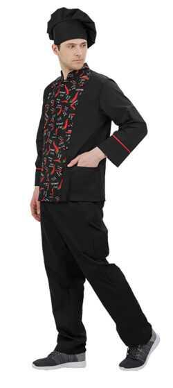 001 3 250x559 - Куртка повара Борнео,мужская