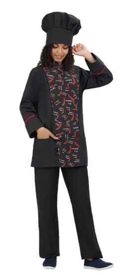 002 1 250x554 - Куртка повара Борнео,женская