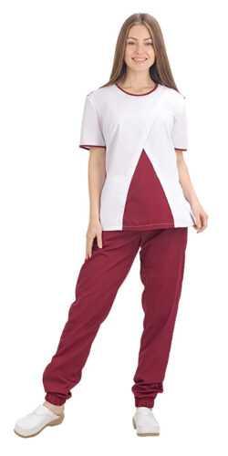 001 1 250x500 - Костюм медицинский женский Рико, красный