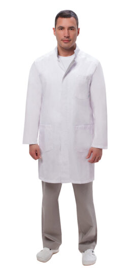 36e124693b2fcb4dc3c4d153f9ea16bd 250x542 - Халат мужской №550 (тк.ТиСи) DoctorBIG, белый/серый
