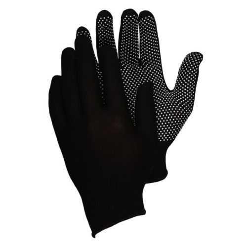 перчатки нейлоновые с ПВХ микроточка