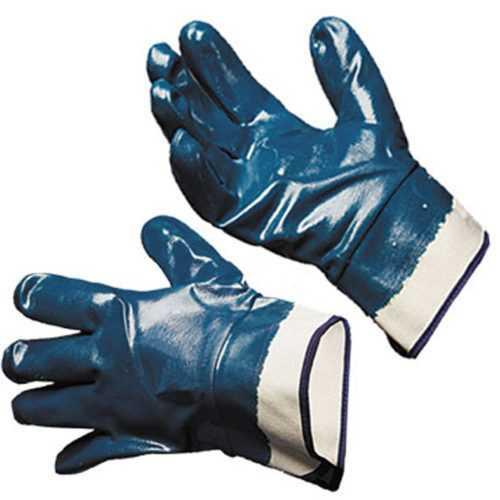 перчатки нитриловые полное покрытие Люкс (крага)