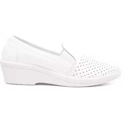 Туфли летние женские кожаные Аня