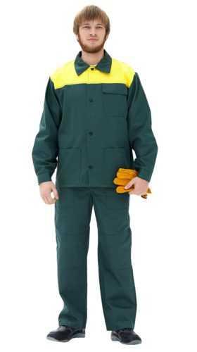 Костюм Стандарт (зеленый-желтый)
